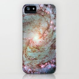 Messier 83, Southern Pinwheel Galaxy, M83 in the constellation Hydra. iPhone Case