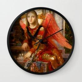 "Gustav Moreau ""King David"" (detail) Wall Clock"
