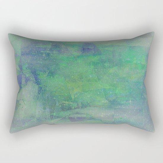 HANDPAINTED WATERCOLOR DREAMS Rectangular Pillow