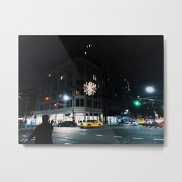 A Night on Columbus Ave Metal Print