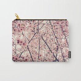 Blizzard of Blossoms Carry-All Pouch