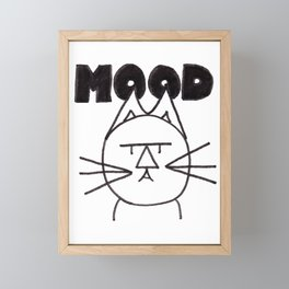 FeltTipCat - Mood Framed Mini Art Print