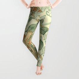 """William Morris """"Honeysuckle"""" 3. Leggings"""