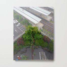 A Beautiful Rainy Day In My Seoul Metal Print