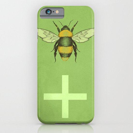 Bee Positive iPhone & iPod Case