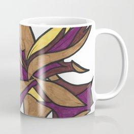 Autumn Reaching Abstract Street Art Ink Drawing Coffee Mug