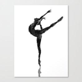 Balanced Ballerina Canvas Print