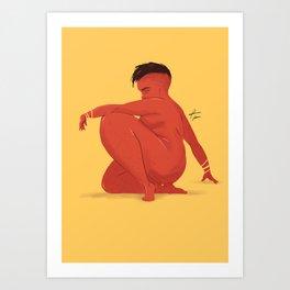 WOMAN69 Art Print