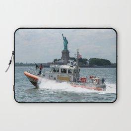 Coast Guard and Liberty Laptop Sleeve