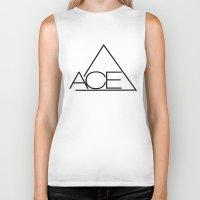ace Biker Tanks featuring ACE by Noctambulous Designs