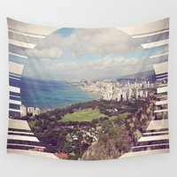 hawaii Wall Tapestries featuring Hawaii by Chandon Photography
