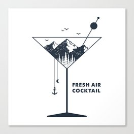 Fresh Air Cocktail Canvas Print