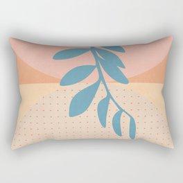 shapes modern leaves butterfly Rectangular Pillow
