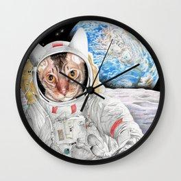 Buzz Cat Wall Clock