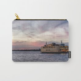 The Boat at Dusk - Staten Island Ferry Carry-All Pouch