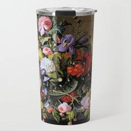 Vintage Varnish- Flowers&Fruit Travel Mug