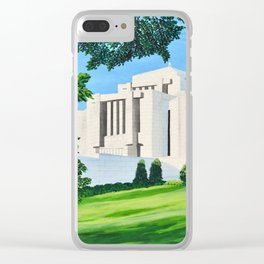Cardston, Alberta Temple Clear iPhone Case