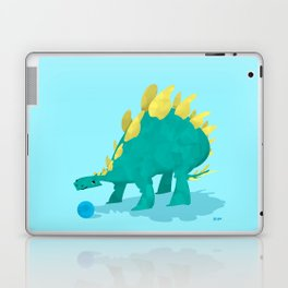 Stegosaurus and his Ball Laptop & iPad Skin