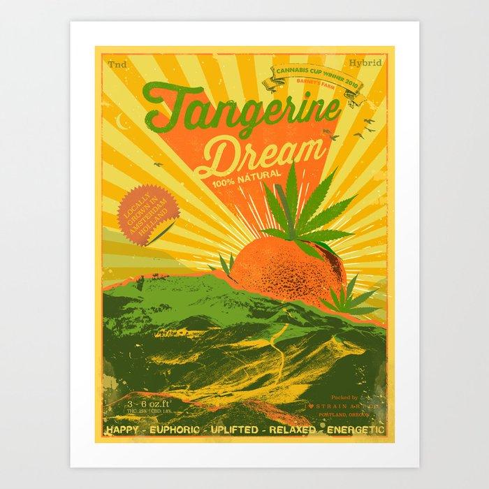 TANGERINE DREAM Art Print