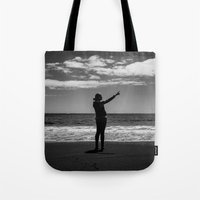 superman Tote Bags featuring Superman??? by Olivier Gosselin