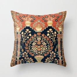Kashan Poshti  Antique Central Persian Rug Print Deko-Kissen