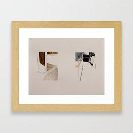 Path Framed Art Print
