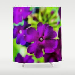 Psychedelic Purple Shower Curtain