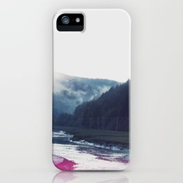 Low Tide in the Valley iPhone Case