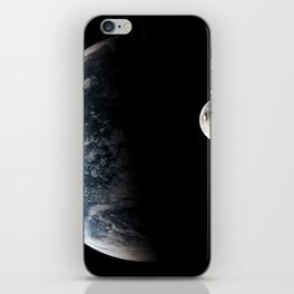 Earths orbit iPhone Skin