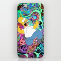 homer iPhone & iPod Skins featuring HOMER by Fernando P.