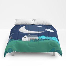 What The Sheep Do While You Sleep Comforters