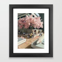 Spring's in the air Framed Art Print