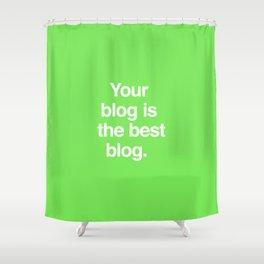 Best Blog Shower Curtain