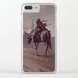 Kingdom of Lyberia Clear iPhone Case