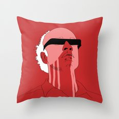 Manhunter psycho  Throw Pillow