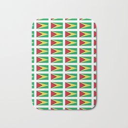 Flag of Guyana -Guyanese,Guyanes,Georgetown,Linden,Waiwai Bath Mat