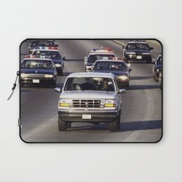 OJ Simpson Car Chase Laptop Sleeve