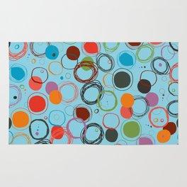 squiggles & circles Rug