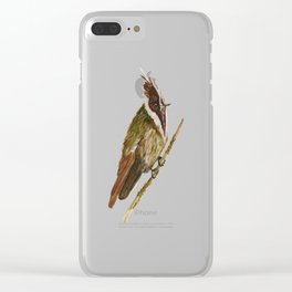 Buffy Helmetcrest Clear iPhone Case