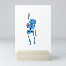 robot Mini Art Print