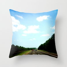 Country Texas Throw Pillow
