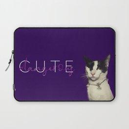 Snob kitty Laptop Sleeve