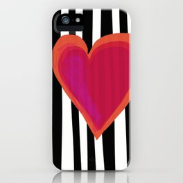 HERE IS MY HEART iPhone Case