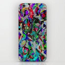 Abstract head iPhone Skin
