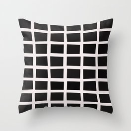 SQUARE.Grid Throw Pillow