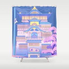 The Bath House Shower Curtain