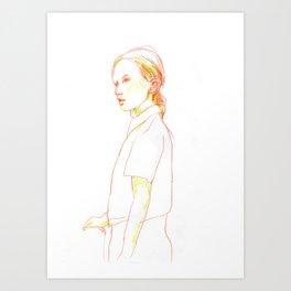 girl #1 Art Print