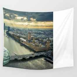On top of the World- London 2 Wall Tapestry