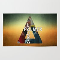 bastille Area & Throw Rugs featuring Bastille - Laura Palmer by Thafrayer