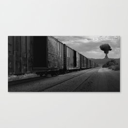 Nuke Train Canvas Print
